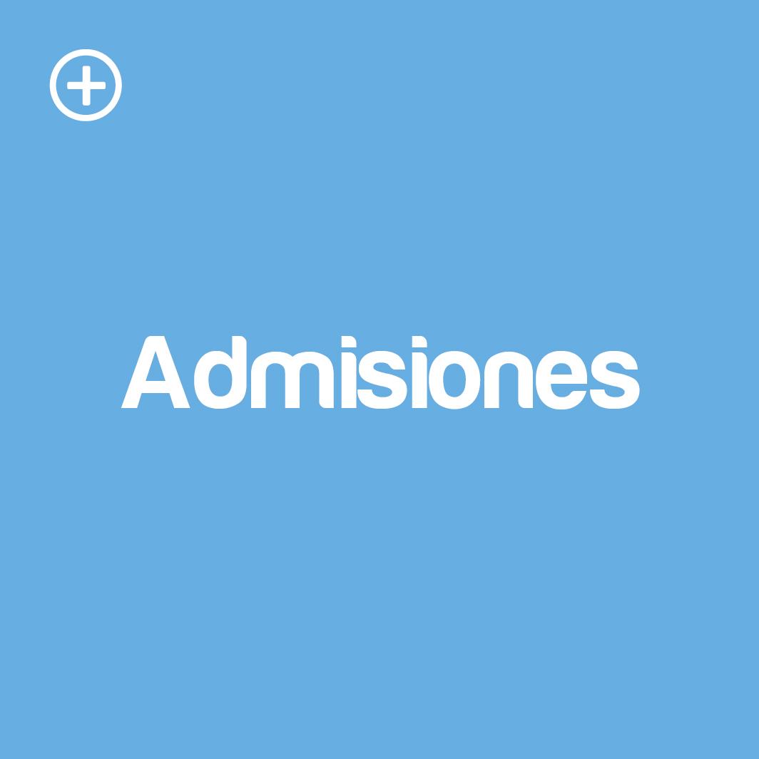 admisiones